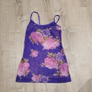 Lace Floral Tank Top 5 for $18